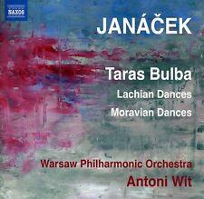 Antoni Wit, L. Janac - Taras Bulba & Lachian Dances & Moravian Dances [New CD]