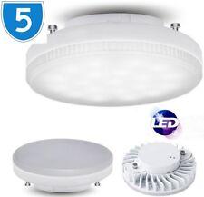 5x Lampe Circulaire Remplacement Clair GX53 Ampoule Cfl Éclairage 240V