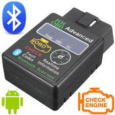 HH avanzada coche ELM327 OBD2 OBDII Bluetooth escáner diagnóstico del automóvil Adaptador puede