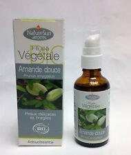 NatureSun Aroms - Huile Végétale Amande douce Bio - 50 ml