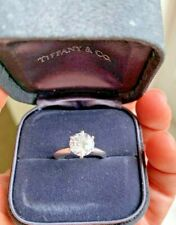 Tiffany & Co 1.53 ct Platinum Round Diamond Solitaire Engagement Ring G Vs2