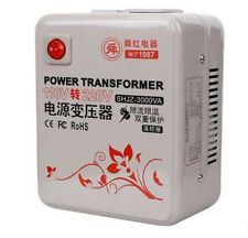 ShunHong 3000W 3KVA Step Up Voltage Converter Transformer 110V-120V to 220V-240V