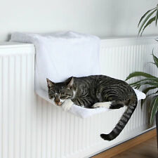 Trixie Soft Cosy Plush White Radiator Cat Bed  Made With Stable Metal Frame