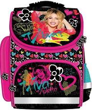 VIOLETTA Disney School BACKPACK School Bag HARDBAG Satchel LICENSED EUROMIC NEW!