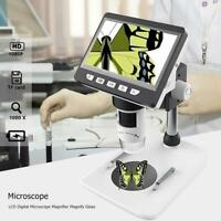 "1000X 4.3"" 1080P Desktop LCD Display Digital Microscope Magnifier Magnify Glass"