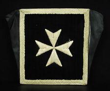 Bourse liturgique de carporal messes catholiques traditionalistes argenté silk