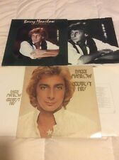 Barry Manilow Lot Of 2 Vinyl LP Greatest Hits Volume 1 & 2 Arista Record Not CD