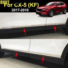 Modanature Laterali Mazda Cx5 2017-2020 Cromate Cromo Lucido