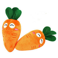Dog Vegetable Carrot Toy Pet Puppy Plush Sound Chew Squeaker Squeaky Plush Toys