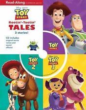 Disney Pixar Toy Story Rootin-Tootin Tales Read-Along Storybook & CD 3 Stories
