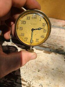 ANTIQUE SWISS DE FRECE CAR AUTOMOBILE CLOCK POCKET WATCH FORD MODEL A T CHEVY
