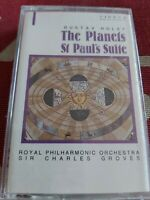 HOLST     THE PLANETS   ST PAUL`S SUITE        CASSETTE TAPE  ALBUM