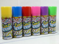 6 Cans Crazy String Silly Party bag spray boy toy gift