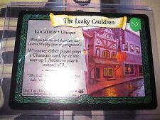 HARRY POTTER TCG DIAGON ALLEY THE LEAKY CAULDRON 27/ 80 RARE FOIL ENGLISH MINT
