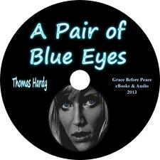 A Pair of Blue Eyes, Thomas Hardy Classic Love Triangle Audiobook on 1 MP3 CD