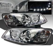 Holden HSV Commodore VE SS Chrome R8 LED DRL Headlights
