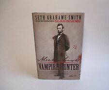 Abraham Lincoln Vampire Hunter by Seth Grahame-Smith SIGNED 1st Edition HB
