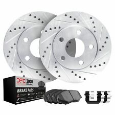 Ceramic Brake Pads 750Li Rear Drill Slot Brake Rotors For 2009-2010 BMW 750i