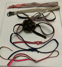 Bundle of 7 Girls Assorted Mix Belts Age 6-9 years