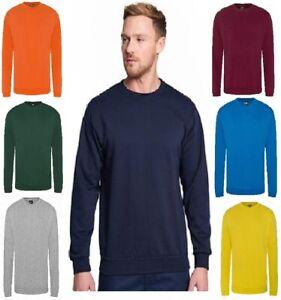 PRO RTX Men's Classic Plain Jumper Sweatshirt Workwear Top colours SIZE(S - 7XL)