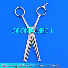 "6.5"" Hair Cutting Thinning Scissors Barber Shears - Double Side Teeth"