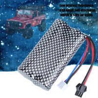 High Power 7.4V 1200mAh Lipo Battery for MN RC Car Racing Vehicle Accessory