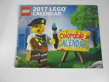 LEGO 5005269 - 2017 Colorable Wall Calendar - New