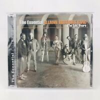 THE ESSENTIAL ALLMAN BROTHERS BAND THE EPIC YEARS CD BRAND NEW SEALED