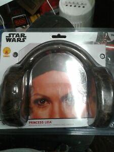 STAR WARS PRINCESS LEIA HEAD BAND WITH HAIR BUNS NIP