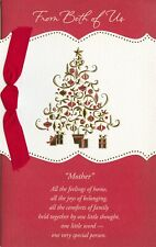 American Greetings Christmas Card: To Mom From Both...You Give So Much...
