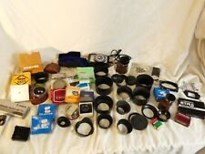 LOTTO grande lavoro di parti accessori della fotocamera Mamiya Bronica Pentax Canon Paraluce