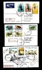 PAPUA NEW GUINEA PNG 1982/85  3 x REG CV  =TARI=   VF
