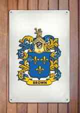 Hampton Coat of Arms A4 10x8 Metal Sign Aluminium Heraldry Heraldic