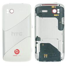 Original HTC Sensation (XE) Akkudeckel Cover Gehäuse Antenne weiß silber