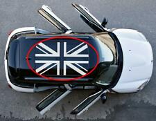 Union Jack roof Graphics British Flag decals stickers (fits to Mini Cooper S)