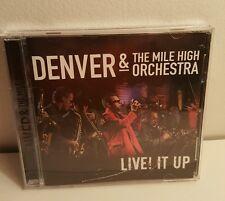 Denver & the Mile High Orchestra: Live! It Up (CD, 2006, Go Global)