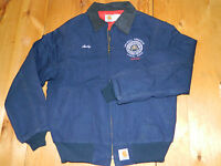 1990's Navy Carhartt Jacket w/Lining Style JQ2102 Sz L Made in USA used