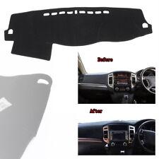 Dash Cover Mat Dashboard Pad Interior Dashmat Black for Mitsubishi Pajero 08-16