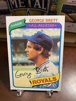 1980 Topps George Brett #450 Baseball Card