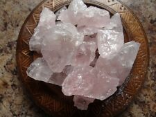QUARTZ, ROSE 1/4 Lb Raw Gemstone Specimens Wiccan Pagan Metaphysical