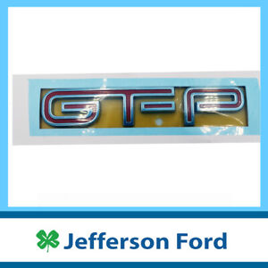 Genuine Ford GT-P Boot & Grill Badge FPV BF FG 2005-2014