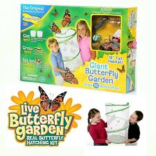 New listing Giant Butterfly Garden w/ Bonus Figures Observation Habitat By Insect Lore