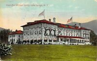 Fort William Henry Hotel Lake George New York NY Divided Back PC