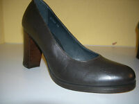 COS Damen Schuhe Pumps Leder Dunkelbraun Gr.36 TOP
