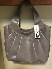 Nine West Sadie Grey Tote Bag Purse NWT