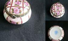 boite à pilule porcelaine d'art limoges