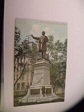 VINTAGE JOE HOWE'S MONUMENT HALIFAX N.S. Nova Scotia Canada postcard Joseph Howe