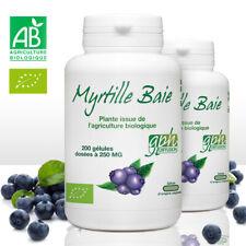 Myrtille Baie Bio - GPH Diffusion - 250mg - 200 gelules - X2