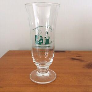 Singapore Sling Glass from Raffles Hotel Souvenir Advertising Memorabilia