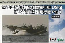Platz 1/300 Scale JMSDF Search & Rescue Flying Boat (2 Kits ) Kit No. PF-19